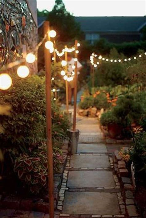 Outdoor String Lighting Ideas 25 Best Ideas About Patio String Lights On Pinterest Patio Lighting String Lights Deck And