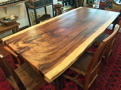 natural  edge wood slab dining tableimpact imports