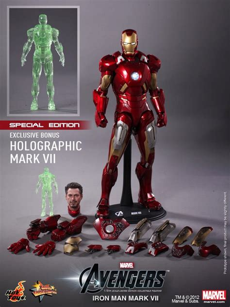 hot toys murah jual action figure the avengers iron man mark vii di