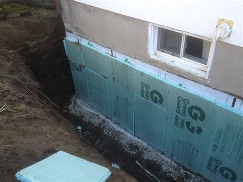 sst basement systems photo album exterior foundation