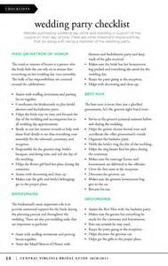 Bridesmaid Itinerary Template by 7 Best Images Of Bridal Itinerary Template For