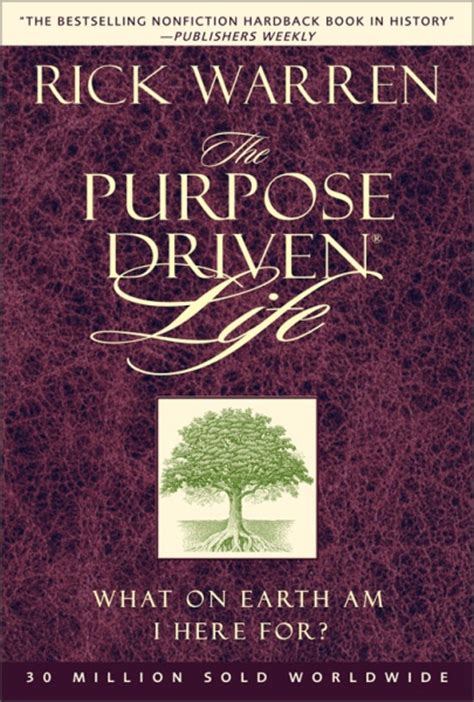 forty years of practice finding purpose in books the purpose driven by rick warren for the bible
