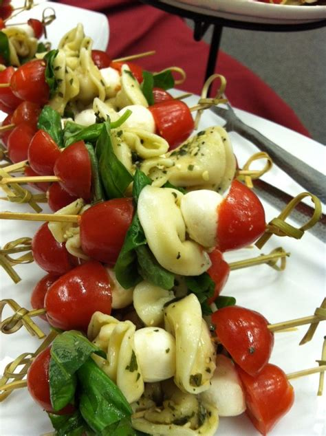 appetizers finger food 17 best ideas about tortellini skewers on pinterest