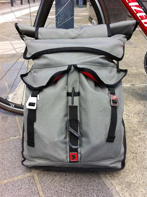 top pawn review chrome pawn roll top backpack bikerumor