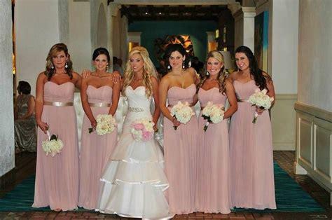 petal colored bridesmaid dresses blush pink bridesmaid dresses wedding dresses