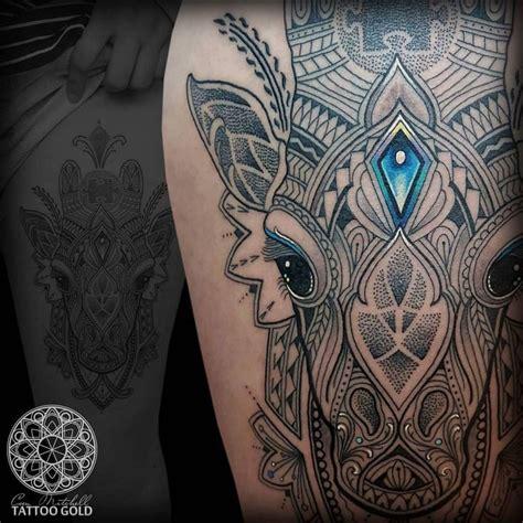 tattoo pen close up mosaic flow giraffe close up if you would like an