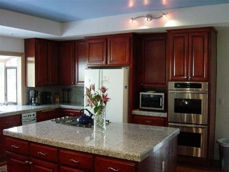 Stained Wood Cabinets by How To Stain Wood Cabinets In Kitchen