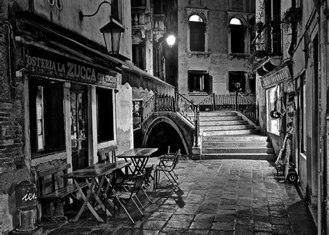 Venice Black venice black and white photograph by frozen in time