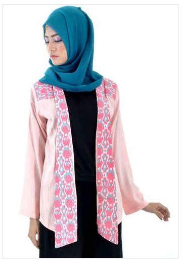 Batik Muslim 2016 Trend Model Baju Batik Muslim Atasan Wanita 2016