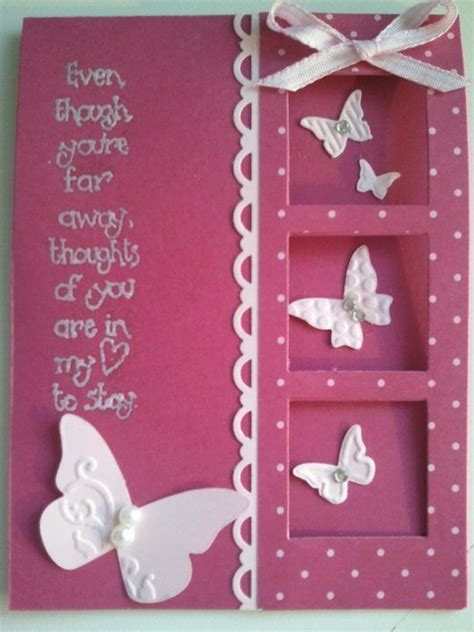 handmade card templates 593 best images about celebrate butterfly flower cards