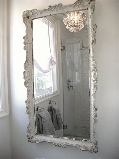 pin by mari crea on french chic pinterest bath mirror mirror and shabby chic mirror