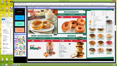 Ce Labs 174 Complete Digital Signage Solutions Restaurant Menus Layout Ce Labs 174 Complete Krispy Kreme Powerpoint Template