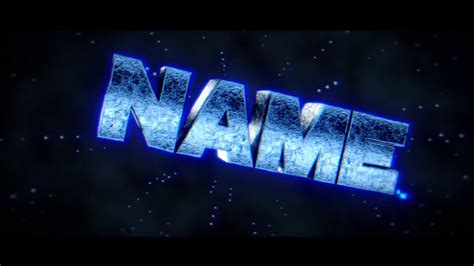 blender template sparks blue blender only intro template free