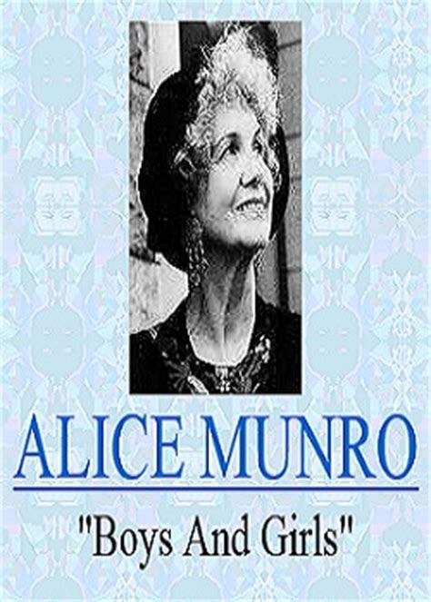 Boys And Munro Essay by Boys And By Munro Reviews Discussion Bookclubs Lists