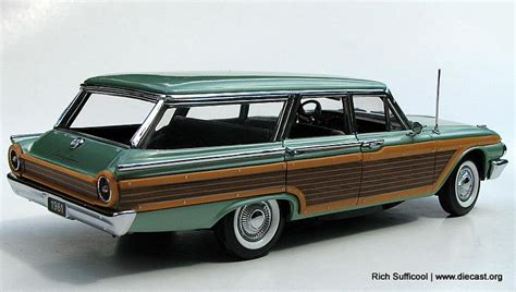 Sw Konsui Franklin Mint 1 24 1961 Ford Country Squire 9 Passenger