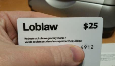 Loblaws Gift Card - loblaws bread gift cards in mail niagara buzz