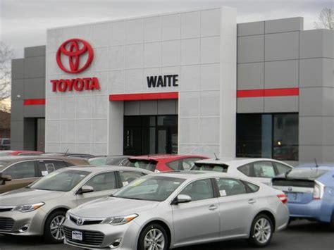 Toyota Dealer Ny Waite Toyota Watertown Ny 13601 Car Dealership And