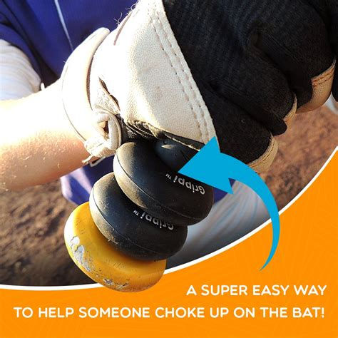Bat Choke Up by Bat Grip Choke Up Rings Youth Baseball Softball And