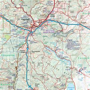 arizona county map with roads arizona road recreation atlas benchmark maps