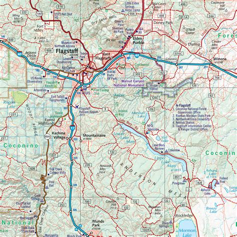 road maps of arizona arizona road recreation atlas benchmark maps