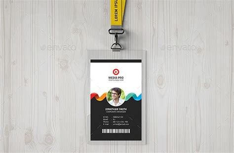contoh design name tag 25 contoh desain id card keren untuk inspirasi grafis
