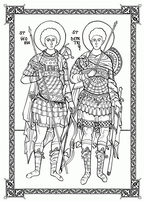 christian icon coloring pages orthodox christian education new coloring icons
