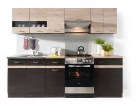 Junona line 240 kitchen set wenge sonoma polish black red white