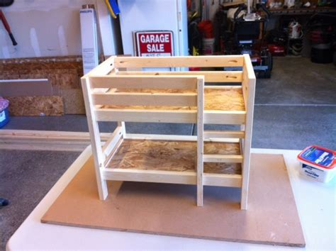 american girl doll bunk beds pdf diy bunk bed plans for american girl dolls download bunk bed plans twin over twin