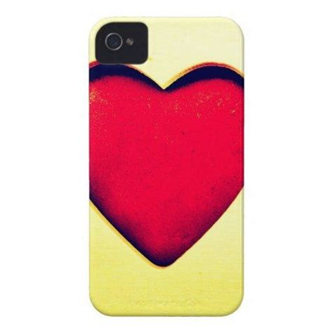 rustic red heart valentines day love case mate iphone