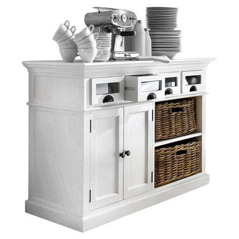 Halifax Kitchen Buffet Table Pure White Dcg Stores Kitchen Buffet Table
