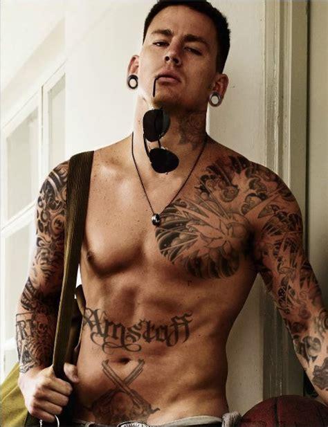 Channing Tatum Male Celebrity Sleeve Tattoos   Tattoo Love