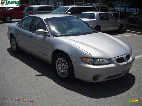 pontiac grand prix 2000 2000 pontiac grand prix se sedan in silvermist metallic