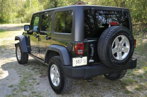 Jeep Rubicon No Doors Buy Used 2011 Jeep Wrangler Unlimited Rubicon Sport