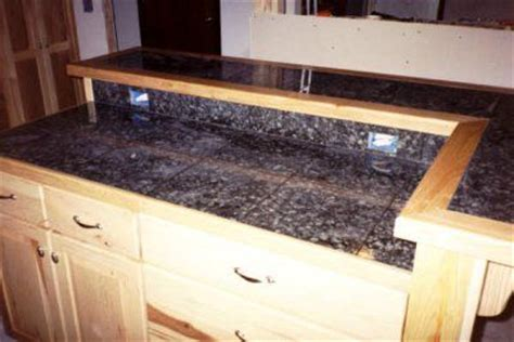 Tile Countertop Trim by Diy Tile Countertops Edging And Ceramic V Cap Pre Made