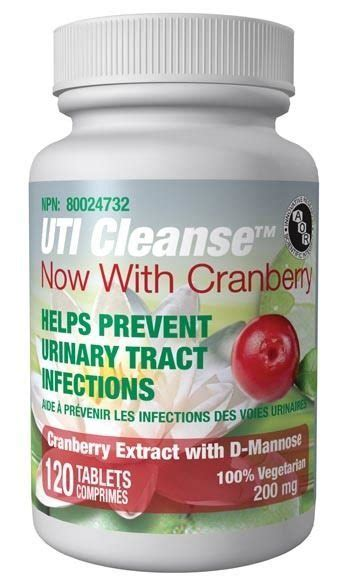 Uti Detox Bath by Uti Cleanse With Cranberry Tablets Better Living
