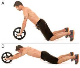 Steering Wheel Crunch Exercise 11 Ab Wheel Exercises That Will Strengthen Your