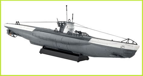 Ts 33 Hull maquette metal sous marin