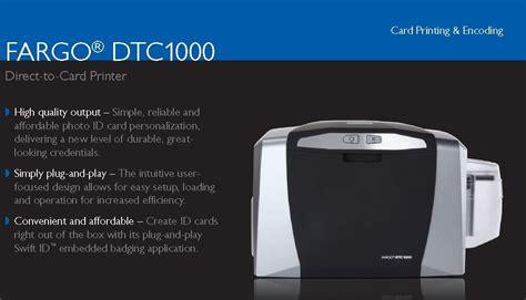 best buy fargo fargo dtc1000 card printer with best price buy fargo