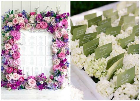 tableau fiori tableau per il tuo matrimonio tanti stili tante idee