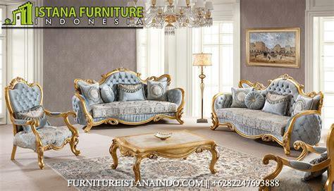 Mejarias Bufet Almari Kursi Sofa Tempat Tidur set kursi tamu ukiran jepara gambar sofa ruang tamu classic terbaru model kursi tamu jati