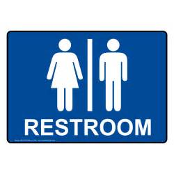 restroom signs multi mount