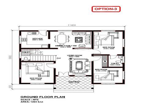 3 bhk kerala home design kerala 3 bedroom house plans house plans kerala model free