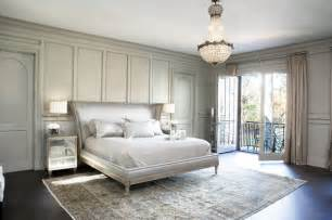 lake residence transitional bedroom by