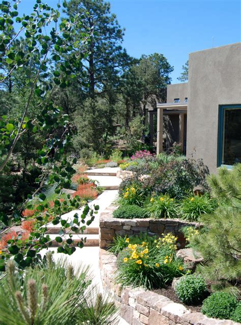 summit house contemporary landscape albuquerque by