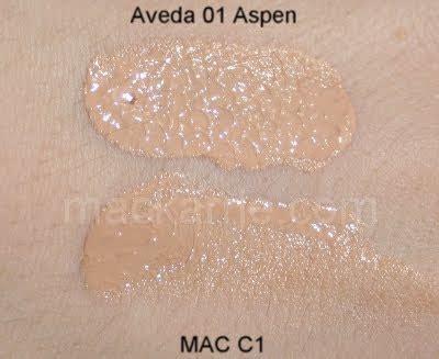 aveda inner light tinted moisturizer swatches mackarrie beauty style blog aveda inner light mineral