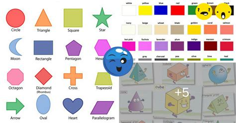 color vocabulary learn vocabulary through pictures shapes and