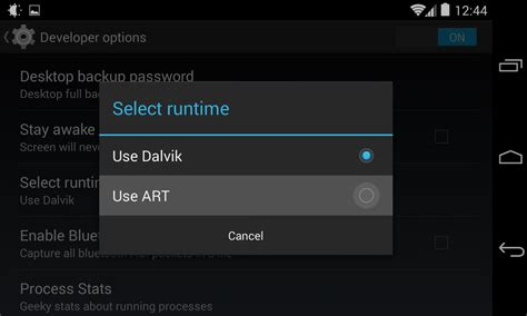 android runtime come velocizzare tutti i dispositivi con android kitkat 4 4 guidesmartphone net