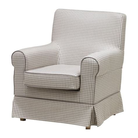Ikea Jennylund Chair Ektorp Jennylund Chair Cover S 229 Gmyra Gray Check Ikea