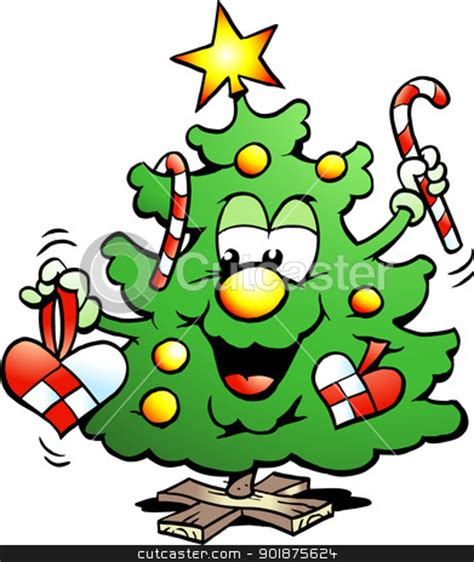happiest christmastree happy tree clipart 40