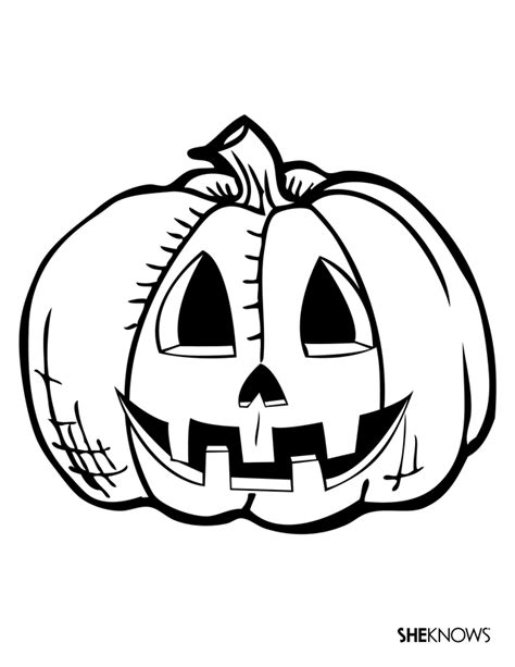printable jack o lantern coloring sheets redirecting to http www sheknows com parenting slideshow